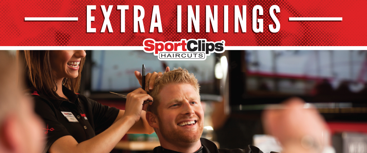 The Sport Clips Haircuts of Round Lake Beach Extra Innings Offerings